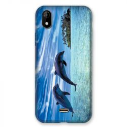 Coque Pour Wiko Y61 Dauphin Ile