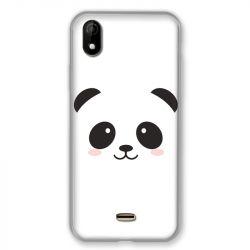 Coque Pour Wiko Y61 Panda Blanc