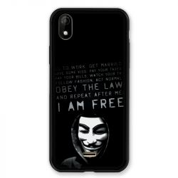 Coque Pour Wiko Y61 Anonymous I am free