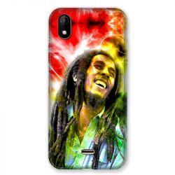 Coque Pour Wiko Y61 Bob Marley Color