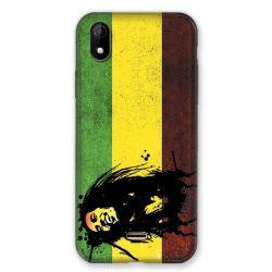 Coque Pour Wiko Y61 Bob Marley Drapeau