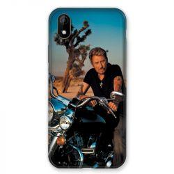 Coque Pour Wiko Y61 Johnny Hallyday Moto