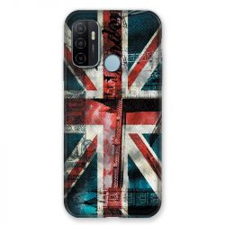Coque Pour Oppo A53 / A53S Angleterre UK Jean's