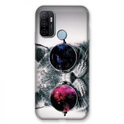 Coque Pour Oppo A53 / A53S Chat Fashion