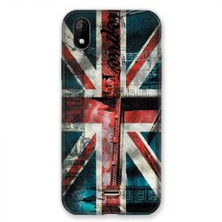 Coque Pour Wiko Y61 Angleterre UK Jean's