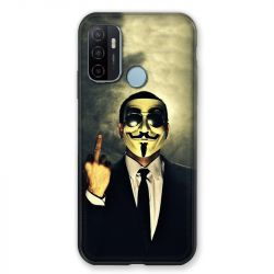 Coque Pour Oppo A53 / A53S Anonymous Doigt