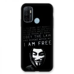 Coque Pour Oppo A53 / A53S Anonymous I am free