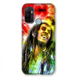 Coque Pour Oppo A53 / A53S Bob Marley Color