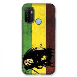 Coque Pour Oppo A53 / A53S Bob Marley Drapeau