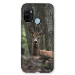 Coque Pour Oppo A53 / A53S Chasse Chevreuil Bois