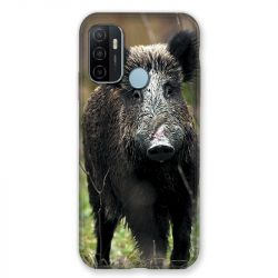 Coque Pour Oppo A53 / A53S Chasse Sanglier bois