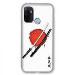 Coque Pour Oppo A53 / A53S Japon Epée