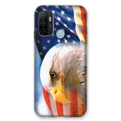Coque Pour Oppo A53 / A53S Amerique USA Aigle