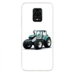 Coque Pour Xiaomi Redmi Note 9S / 9 Pro Agriculture Tracteur Blanc