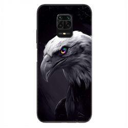 Coque Pour Xiaomi Redmi Note 9S / 9 Pro Aigle Royal Noir
