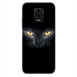 Coque Pour Xiaomi Redmi Note 9S / 9 Pro Chat Noir