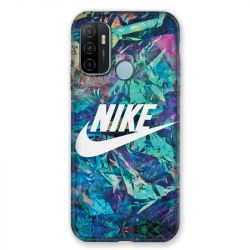 Coque Pour Oppo A53 / A53S Nike Turquoise