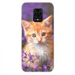 Coque Pour Xiaomi Redmi Note 9S / 9 Pro Chat Violet