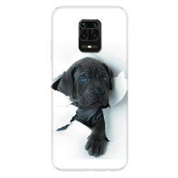 Coque Pour Xiaomi Redmi Note 9S / 9 Pro Chien Noir