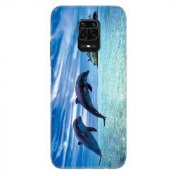 Coque Pour Xiaomi Redmi Note 9S / 9 Pro Dauphin Ile