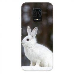 Coque Pour Xiaomi Redmi Note 9S / 9 Pro Lapin Blanc