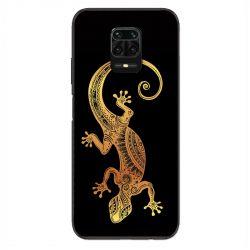 Coque Pour Xiaomi Redmi Note 9S / 9 Pro Animaux Maori Lezard Noir
