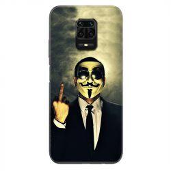 Coque Pour Xiaomi Redmi Note 9S / 9 Pro Anonymous Doigt