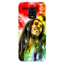 Coque Pour Xiaomi Redmi Note 9S / 9 Pro Bob Marley Color
