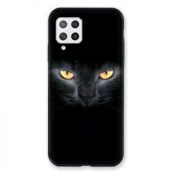Coque Pour Samsung Galaxy A42 Chat Noir