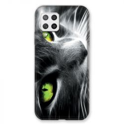 Coque Pour Samsung Galaxy A42 Chat Vert