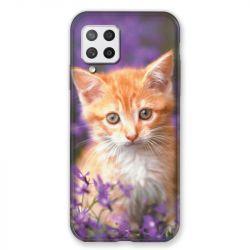 Coque Pour Samsung Galaxy A42 Chat Violet