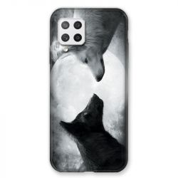 Coque Pour Samsung Galaxy A42 Loup Duo