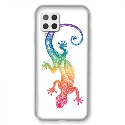 Coque Pour Samsung Galaxy A42 Animaux Maori Salamandre Color