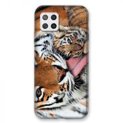 Coque Pour Samsung Galaxy A42 Bebe Tigre