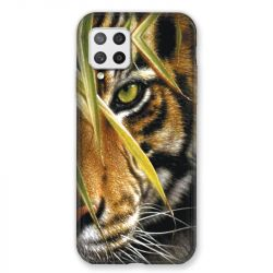 Coque Pour Samsung Galaxy A42 Oeil Tigre