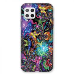 Coque Pour Samsung Galaxy A42 Psychedelic Colore