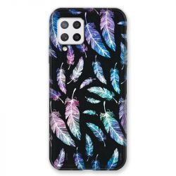 Coque Pour Samsung Galaxy A42 Psychedelic Plume