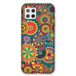 Coque Pour Samsung Galaxy A42 Psychedelic Roue