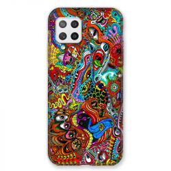 Coque Pour Samsung Galaxy A42 Psychedelic Yeux