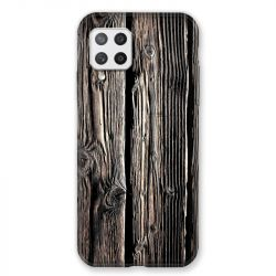 Coque Pour Samsung Galaxy A42 Texture Bois