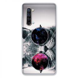 Coque Pour Oppo Find X2 Lite / Reno 3 Chat Fashion