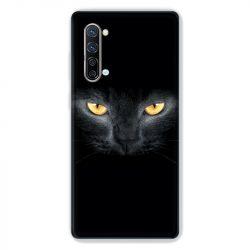 Coque Pour Oppo Find X2 Lite / Reno 3 Chat Noir
