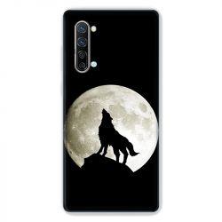 Coque Pour Oppo Find X2 Lite / Reno 3 Loup Noir