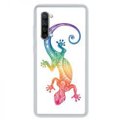 Coque Pour Oppo Find X2 Lite / Reno 3 Animaux Maori Salamandre Color
