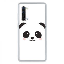 Coque Pour Oppo Find X2 Lite / Reno 3 Panda Blanc