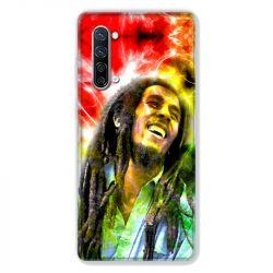 Coque Pour Oppo Find X2 Lite / Reno 3 Bob Marley Color