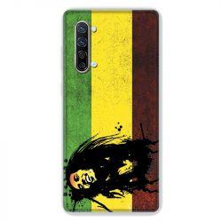 Coque Pour Oppo Find X2 Lite / Reno 3 Bob Marley Drapeau