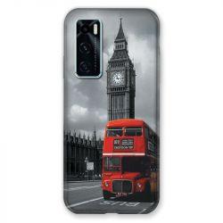 Coque Pour Vivo Y70 Angleterre London Bus