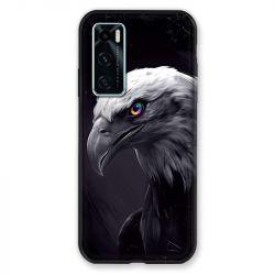 Coque Pour Vivo Y70 Aigle Royal Noir