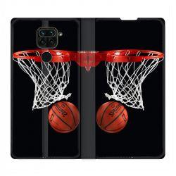 Housse Cuir Portefeuille Pour Xiaomi Redmi Note 9 Panier Basket